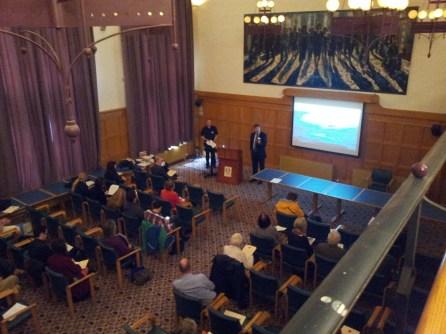 Dr John Curran Introduces Dr Roaul McLaughlin