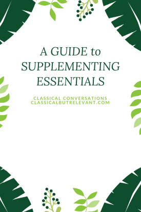 GUIDE to SUPPLEMENTING ESSENTIALS