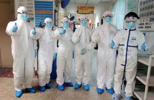 Coronavirus team at Hankou Hospital No. 8