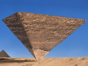 upside -down pyramid