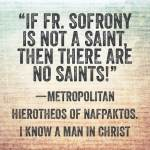 Elder Sophrony on Orthodoxy and Ecumenism