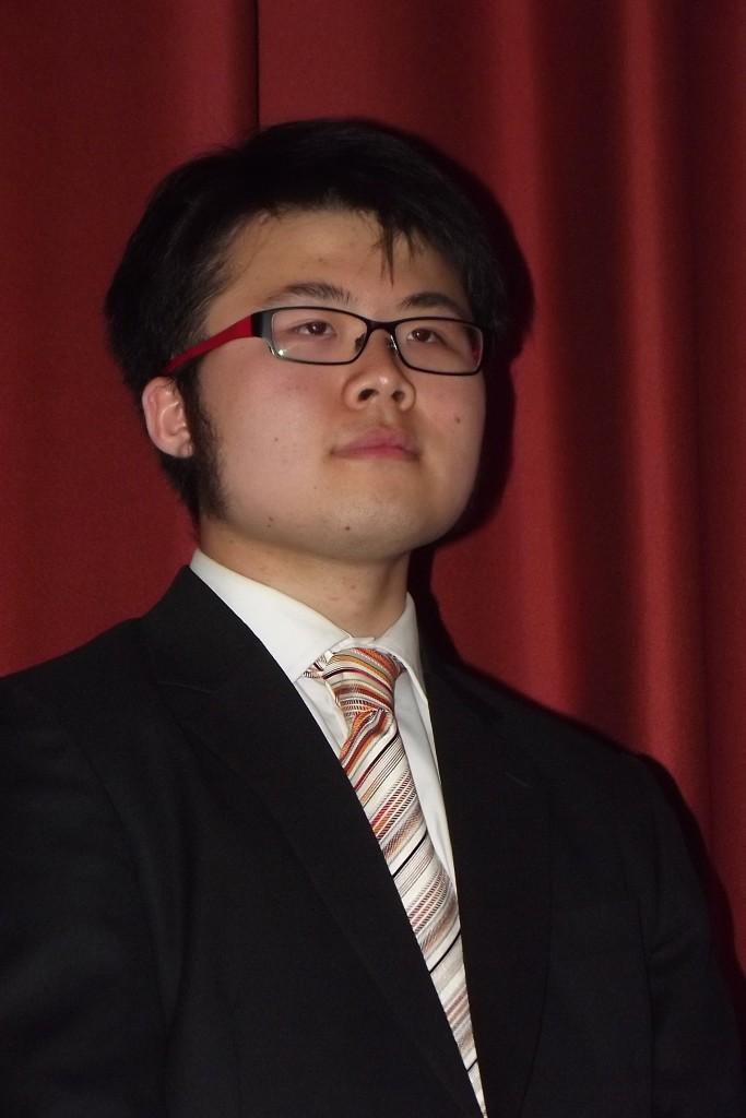 Senior division winner kevin Loh