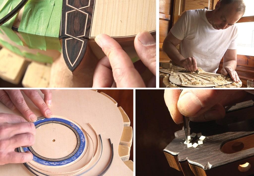 Stephan Connor Luthier Working Flamenco Guitar Handmade Luthier Granada Classical Guitar Magazine