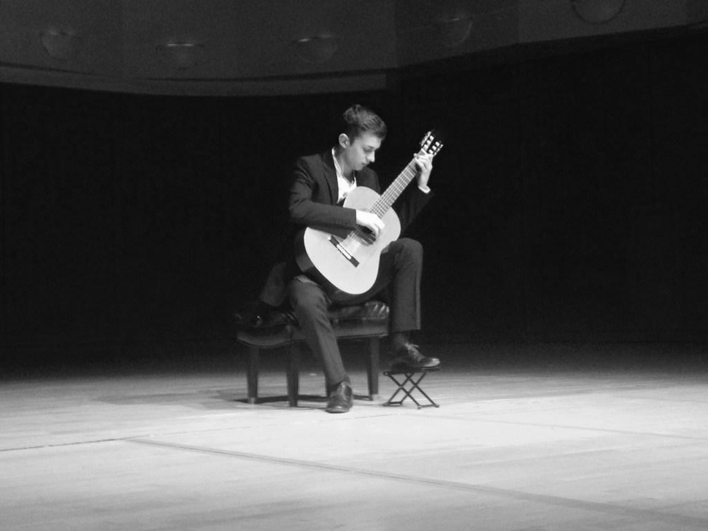 Thibaut Garcia onstage at Denver GFA