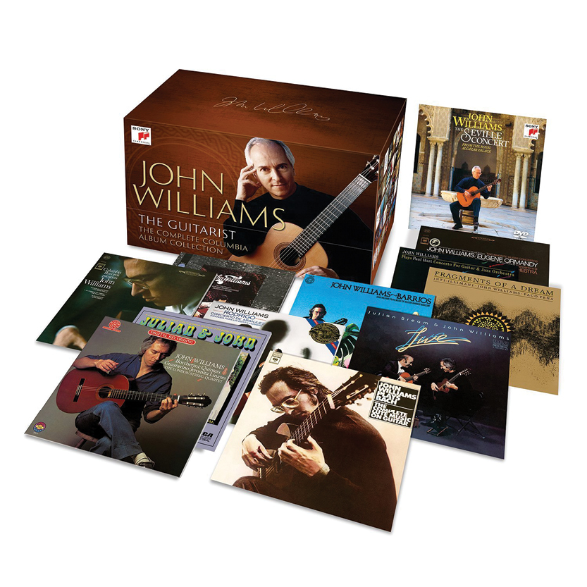 John Williams Guitarist Classical Guitar Magazine Sony Box Set The Complete Album Collection
