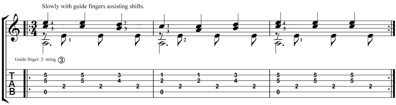 Classical Guitar Lesson Tarrega Recuerdos de la Alhambra Micro Study 3
