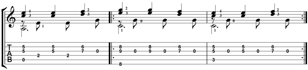 Classical Guitar Lesson Tarrega Recuerdos de la Alhambra Micro Study 3a