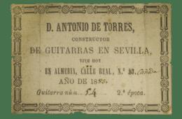 Antonio De Torres Guitars Classical Guitar Nylon Spanish