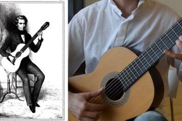 Aguado Method Classical Guitar Lesson