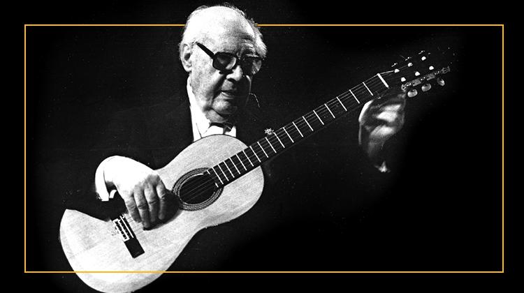 Andres Segovia Graham Wade Classical Guitar Legacy
