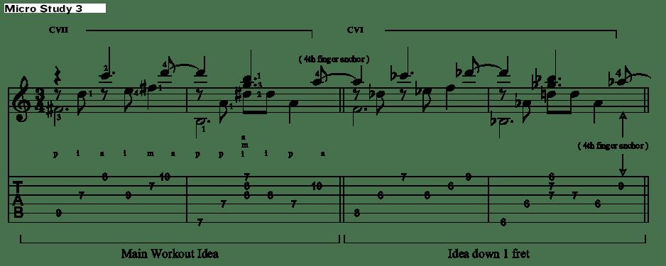 Classical Guitar Antonio Lauro Micro Study 3