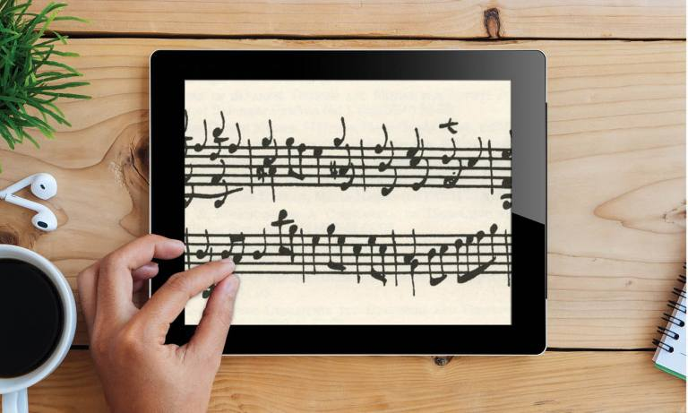 Classical Guitar Notation software stage and studio