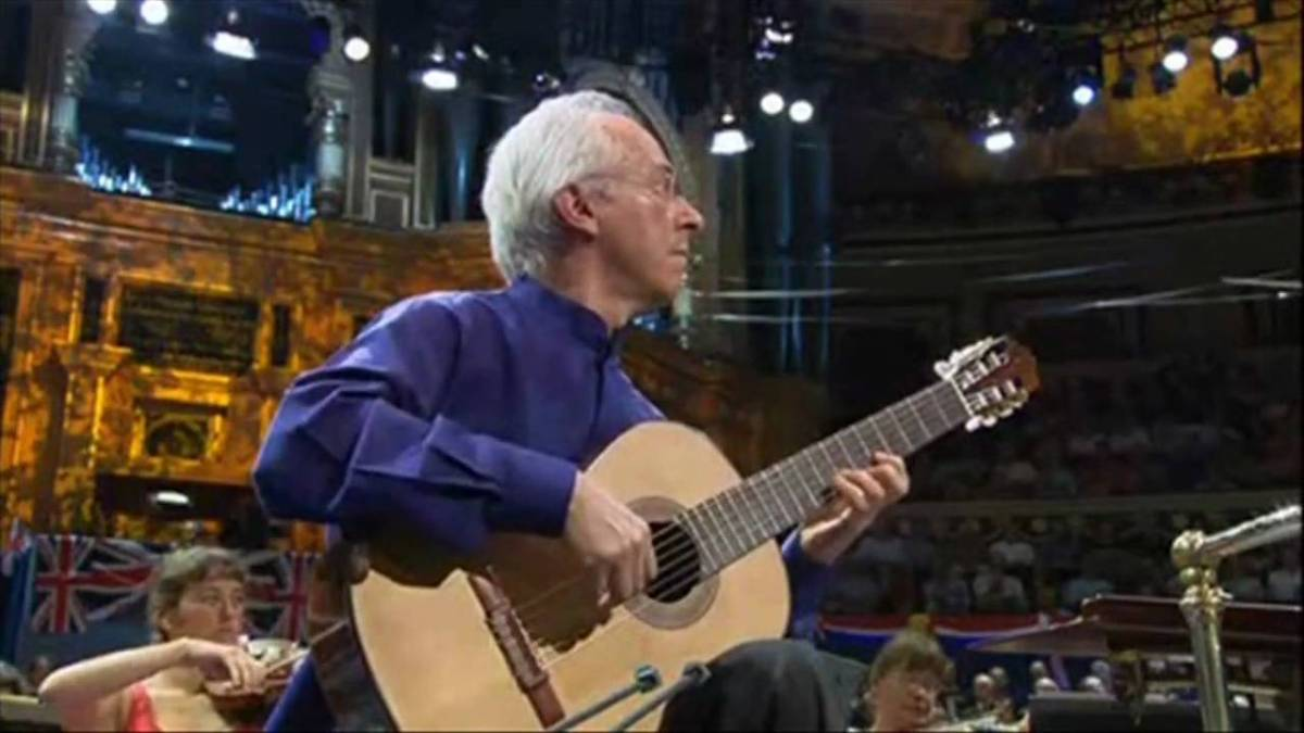 Watch John Williams Play The Adagio From Rodrigo S Concierto De Aranjuez Classical Guitar