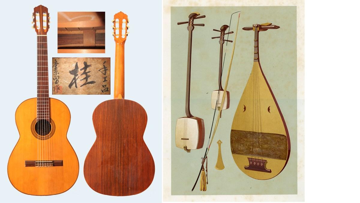 Yusaku lute vintage japanese classical guitars