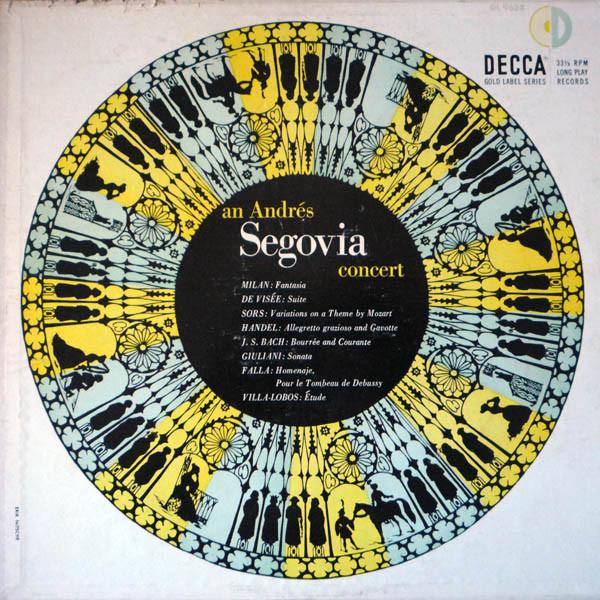 Segovia Decca DL 9638