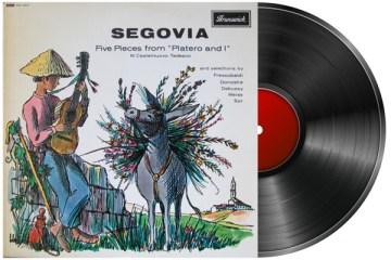 andres segovia Platero y Yo classical guitar record