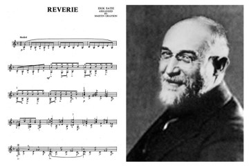 eric satie reverie classical guitar music