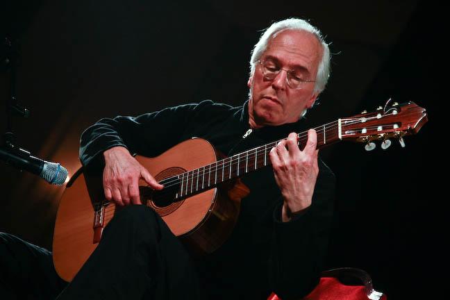 John Williams playing guitar