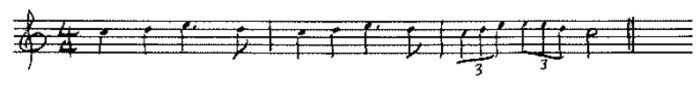 Classical guitar sight reading example 2