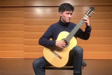 classical guitarist Huaicong mu
