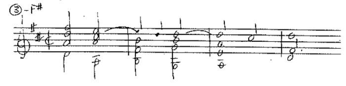 classical guitar forbidden fifths ex 3