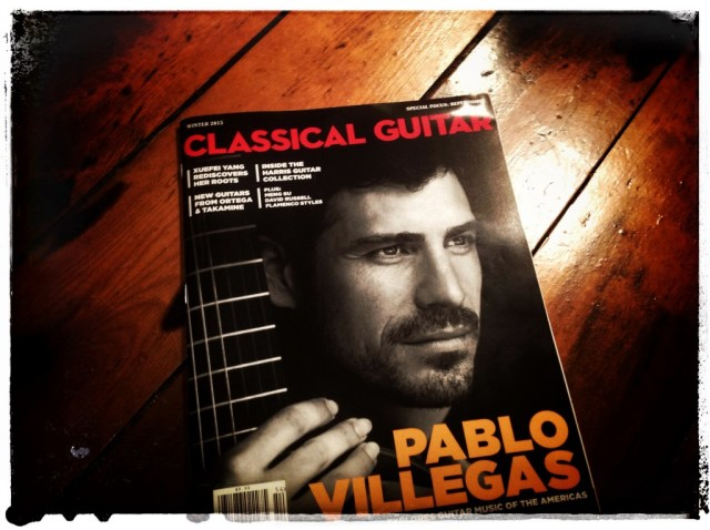 Classical Guitar Magazine Winter 2015