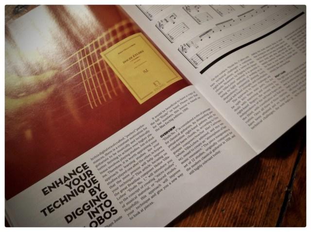 classical guitar magazine lesson 1