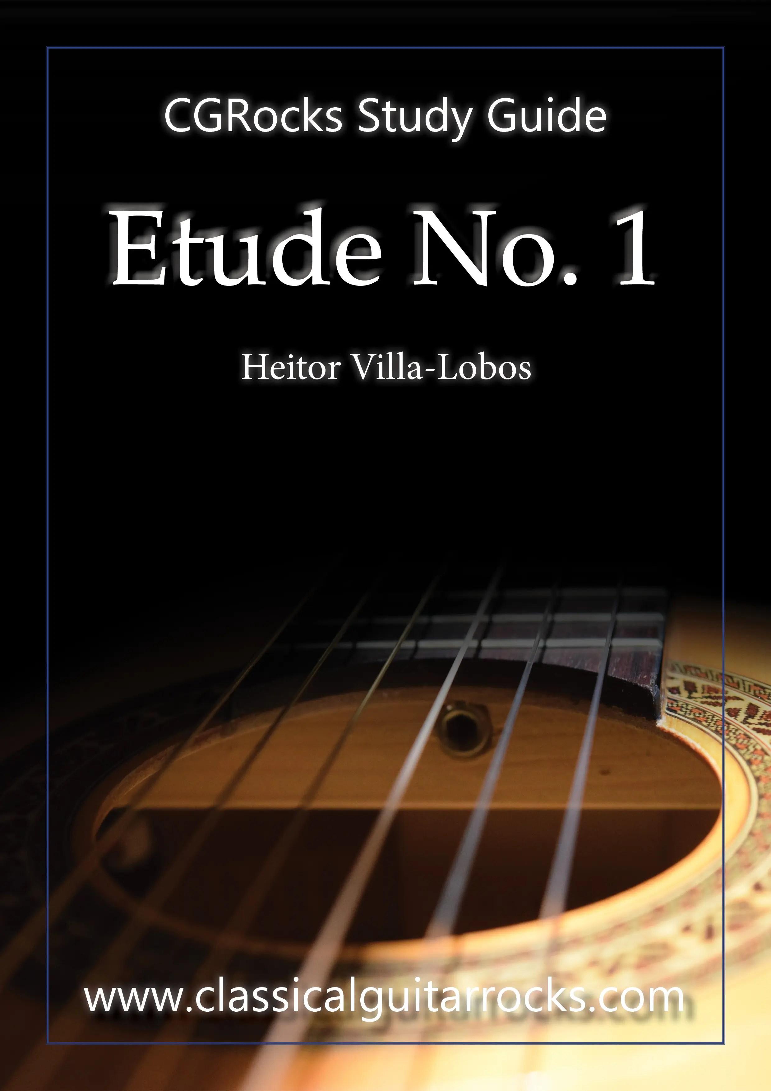 Villa-Lobos Etude Lesson