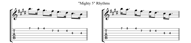 Villa-Lobos scales Micro study 1c Gallup rhythms
