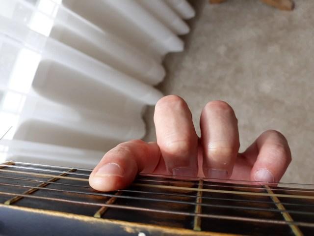 Half barre chord incorrect