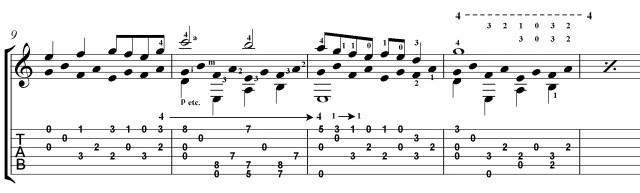 Villa-Lobos etude 5 classical guitar lesson