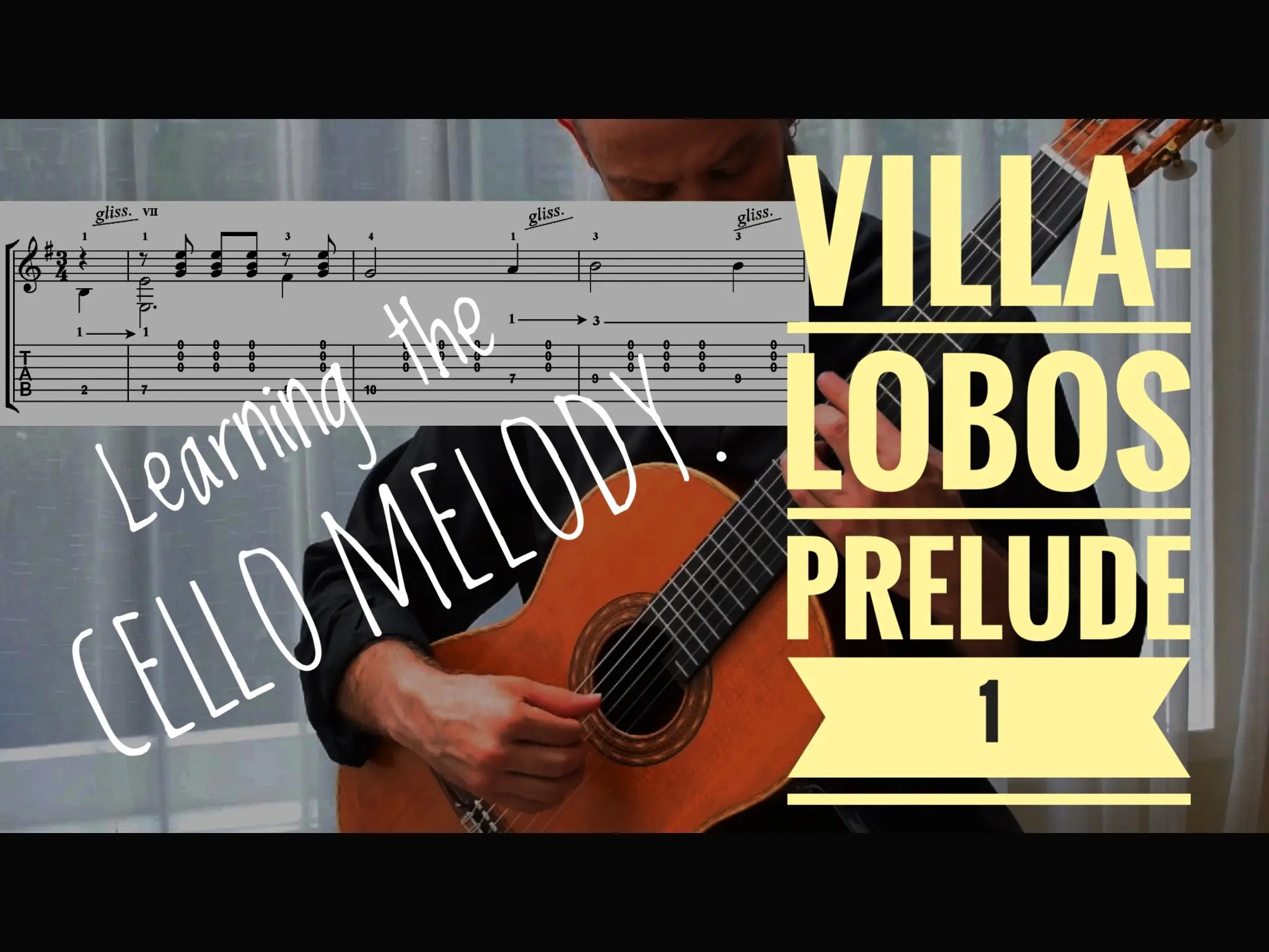 Learn Prelude 1 by Villa-Lobos