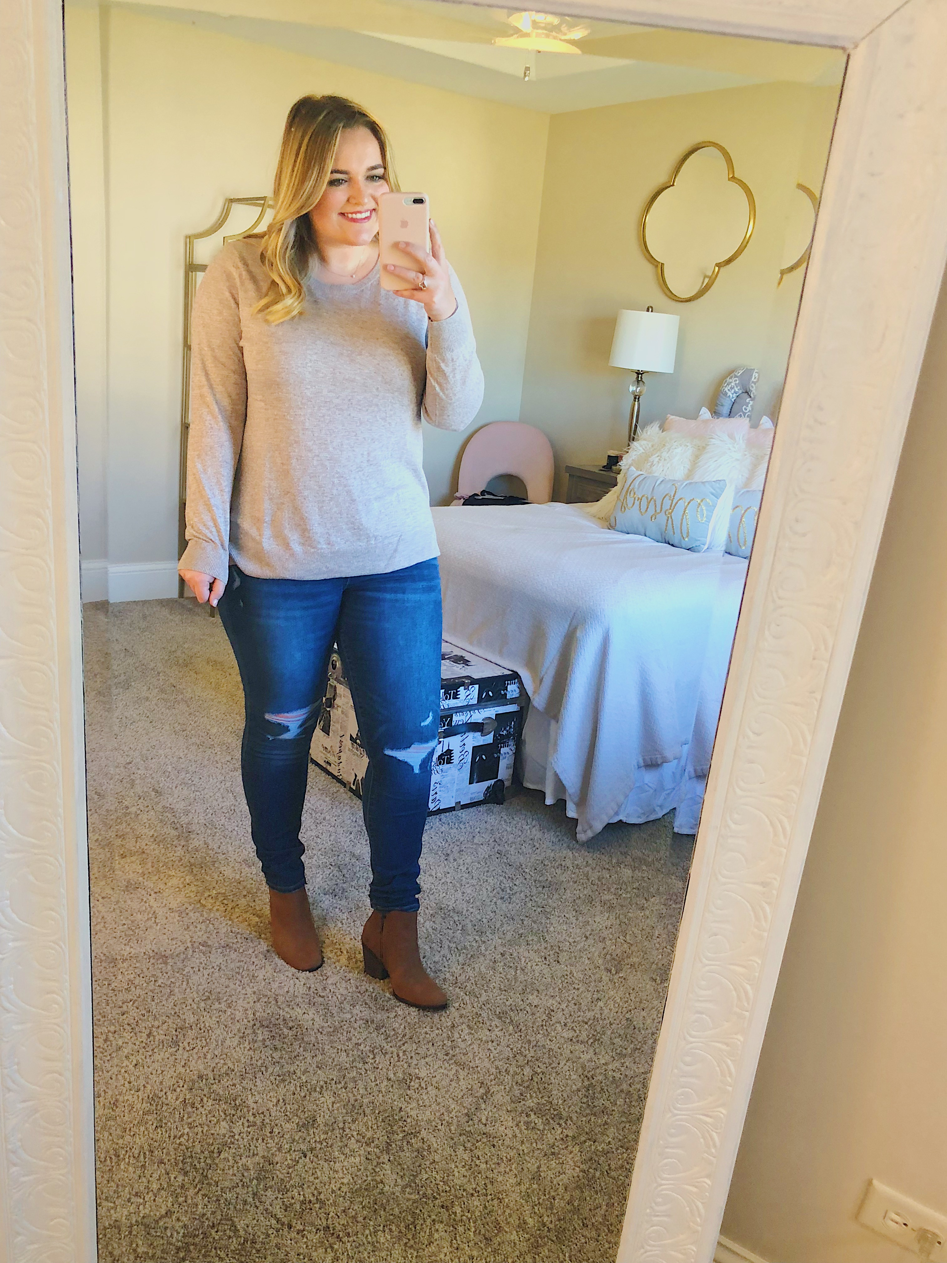 Layering Sweater Sale Old Navy Oatmeal