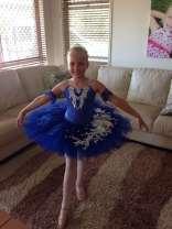 Classical Ballet tutu - stretch tutu - royal