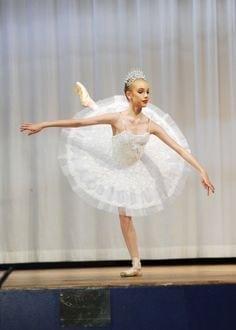 Classical Ballet Tutu - stretch - white