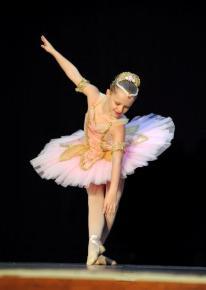 Classical Ballet tutu - stretch tutu - pink and gold