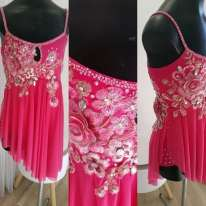 Fushia Lyrical Dance Costume