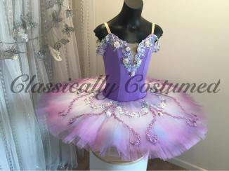 Lavender and Lilac stretch tutu