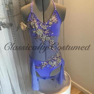 Mauve Lyrical Dance Costume