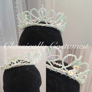 Mint Ballet Tiara for dance