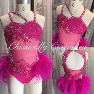 Hot Pink Jazz Dance Costume