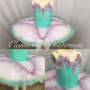 Mint Classical ballet tutu