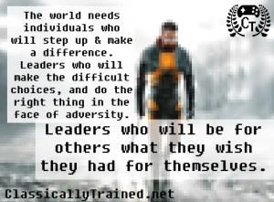 leadership half life classically trained