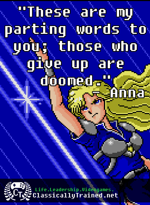 phantasy star 2 quote video games