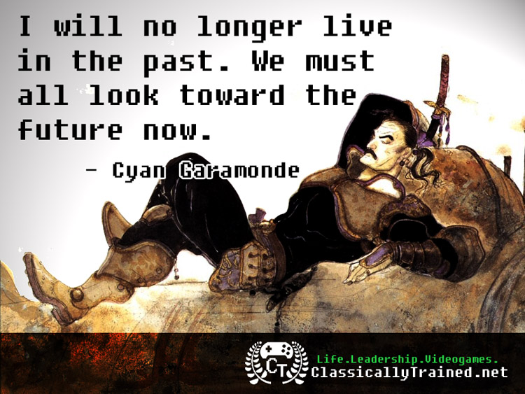 Video Game Quotes Final Fantasy Vi On Overcoming Regret