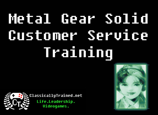 metal gear solid customer service life lessons from video games