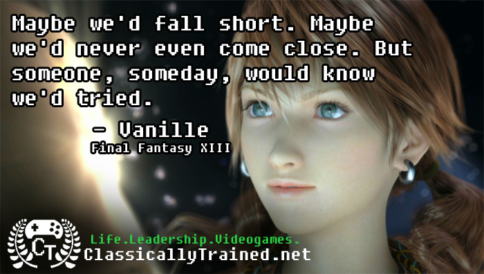 video game quotes final fantasy xiii