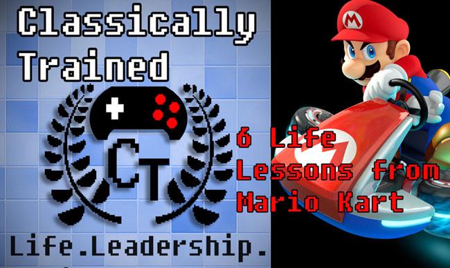 mario kart life lessons