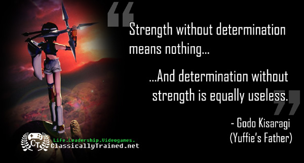 Video Game Quotes: Final Fantasy VII on Strength ...