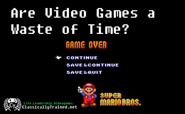 are video games a waste of time
